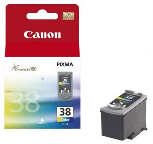 TechLogics - CANON CL 38 - PRINT CARTRIDGE - 1 X COLOUR (CYAN MAGENTA YELLOW) - 20
