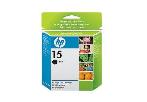 TechLogics - HP INK CARTRIDGE NO.15 BLACK 25ML FOR DESKJET OFFICEJET PSC FAX