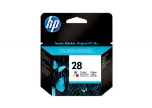 TechLogics - HP INK CARTRIDGE NO.28 TRI-COLOR 8ML FOR DESKJET OFFICEJET PSC