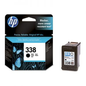 TechLogics - HP INK CARTRIDGE NO.338 BLACK 11ML FOR DESKJET OFFICEJET PSC PHOTOSMAR