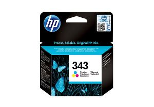 TechLogics - HP INK CARTRIDGE NO.343 TRI-COLOR 7ML FOR DESKJET OFFICEJET PSC PHOTOS