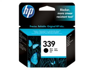 TechLogics - HP INK CARTRIDGE NO.339 BLACK 21ML FOR DESKJET OFFICEJET PHOTOSMART