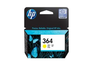 TechLogics - HP 364 INK CARTRIDGE YELLOW WITH VIVERA INK
