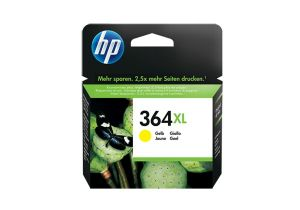 TechLogics - HP 364XL INK CARTRIDGE YELLOW WITH VIVERA INK