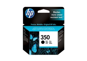 TechLogics - HP 350 BLACK INKJET PRINT CARTRIDGE WITH VIVERA INK