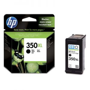 TechLogics - HP 350XL BLACK INK CARTRIDGE WITH VIVERA INK