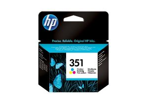 TechLogics - HP 351 TRI-COLOUR INKJET PRINT CARTRIDGE WITH VIVERA INKS