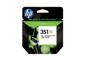 TechLogics - HP 351XL TRI-COLOR INK CARTRIDGE WITH VIVERA INK