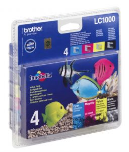 TechLogics - promotion package with 1x LC-1000 with 4 colors (b/y/c/m)
