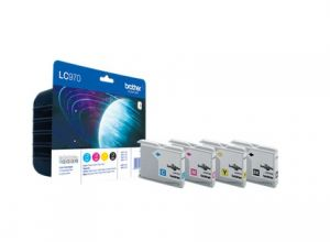 TechLogics - Promotion package with 1 x LC-970 with 4 colors (B/Y/C/M)