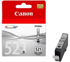 TechLogics - Canon CLI-521 ink cartridge grey