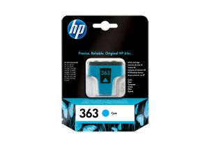 TechLogics - HP Ink cartridge no.363 cyan with Vivera ink for the Photosmart C5180/C6280/C7280/C8180/D7260/D7460