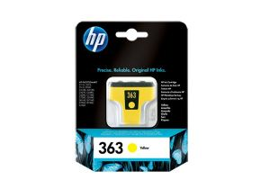 TechLogics - HP Ink cartridge no.363 yellow with Vivera ink for the Photosmart C5180/C6280/C7280/C8180/D7260/D7462