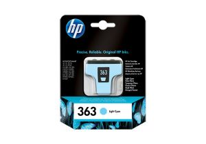 TechLogics - HP Ink cartridge no.363 light cyan withVivera ink for the Photosmart C5180/C6280/C7280/C8180/D7260/D7463