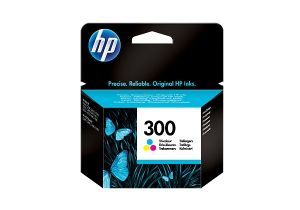 TechLogics - HP Ink cartridge no.300 tri-color with Vivera ink for DeskJet D2560 and OfficeJet F4280
