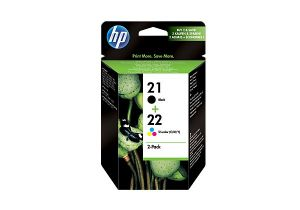 TechLogics - HP No 21/22 Ink Prin Cart 2-pack