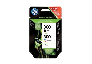 TechLogics - HP 300 ink combo pack black/tri-color