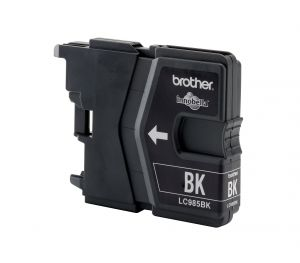 TechLogics - Brother LC-985BK Black DCP-J125/J315W/J515W. MFC-J220/J265W/J415W