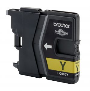 TechLogics - Brother LC-985Y Yellow DCP-J125/J315W/J515W. MFC-J220/J265W/J415W