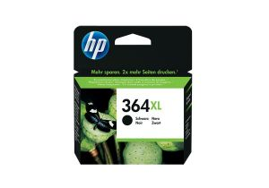 TechLogics - HP Ink cartridge no.364XL black with Vivera Ink for the PhotoSmart (up to 550 pages)
