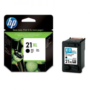 TechLogics - HP No. 21XL Origineel Zwart 12ml