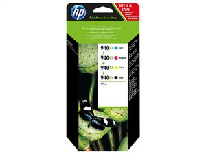 TechLogics - HP 940XL INK CARTRIDGE CMYK COMBO-PACK