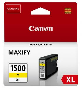 TechLogics - Canon (E) PGI-1500XL Y  Yellow        (Origineel)