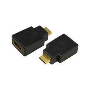 TechLogics - Adapter HDMI (M) <--> HDMI-mini (M)  LogiLink