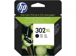 TechLogics - HP No.302XL  Zwart     8,5ml   (Origineel)