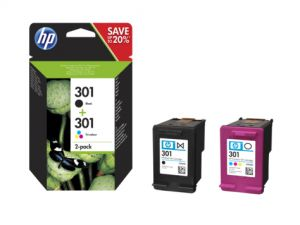 TechLogics - HP No.301    Combo Pack  6ml   (Origineel)