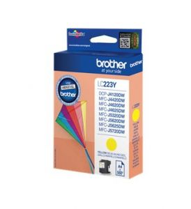TechLogics - Brother (N) LC-223Y   Geel       5,9ml (Origineel)