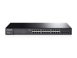 TechLogics - TP-Link 24Port, 24x1Gb - 4xSFP Managed
