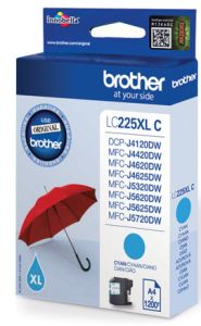 TechLogics - Brother LC-225XLC    Cyaan      11,8ml (Origineel)