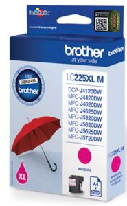 TechLogics - Brother LC-225XLM    Magenta    11,8ml (Origineel)