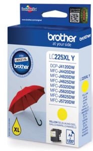 TechLogics - Brother LC-225XLY    Geel       11,8ml (Origineel)