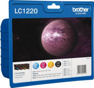 TechLogics - Brother LC-1220      Value Pack 22,2ml (Origineel)