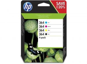 TechLogics - HP No.364  MultiPack Z/C/M/Y 12ml   (Origineel)