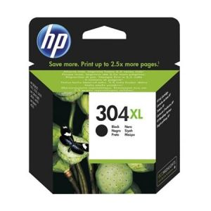 TechLogics - HP No.304XL Zwart 5,5ml (Origineel)