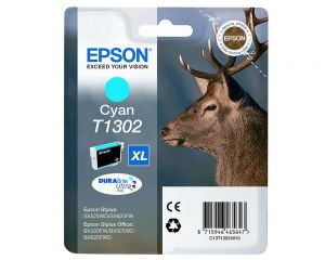 TechLogics - Epson T1302XL Cyaan 10,1ml (Origineel)