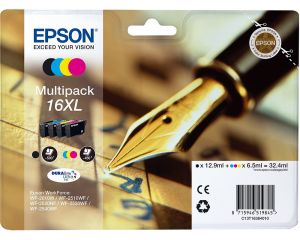 TechLogics - Epson T1636XL Mulitpack 32,4ml (Origineel)