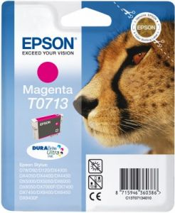 TechLogics - Epson T0713 Magenta 5,5ml (Origineel)