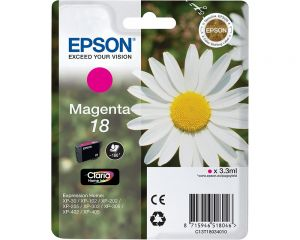 TechLogics - Epson T1803 Magenta 3,3ml (Origineel)