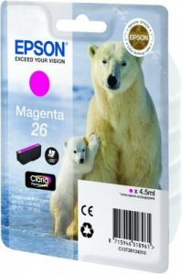 TechLogics - Epson T2613 Magenta 4,5ml (Origineel)
