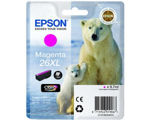 TechLogics - Epson T2633XL Magenta 9,7ml (Origineel)