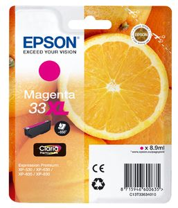 TechLogics - Epson T3363XL Magenta 8,9ml (Origineel)