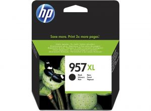 TechLogics - HP No.957XL Zwart 63,5ml (Origineel)