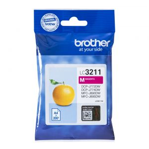 TechLogics - Brother LC-3211M Magenta 200 pagina's (Origineel)