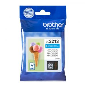TechLogics - Brother LC-3213C Cyaan 400 pagina's (Origineel)