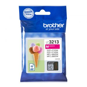 TechLogics - Brother LC-3213M Magenta 400 pagina's (Origineel)