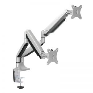 TechLogics - Desk mount Dual LogiLink 13-27 >9kg